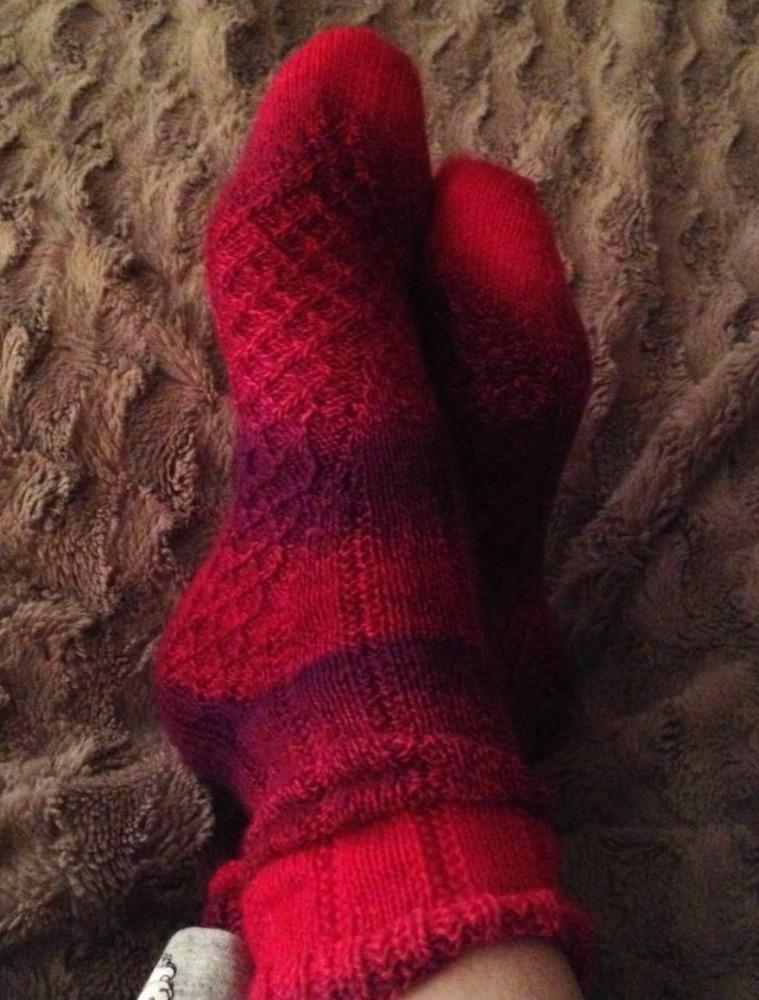 Maeva Socks on feet